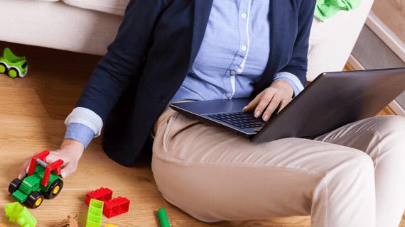 ¿Cómo equilibrar el tiempo entre el teletrabajo y los hijos en casa?