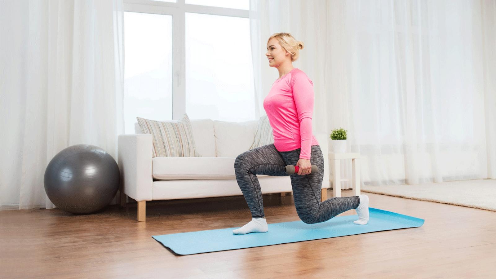 rutina ejercicio en casa