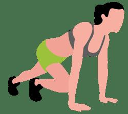 Rutina de ejercicio para realizar en casa mientras hace teletrabajo