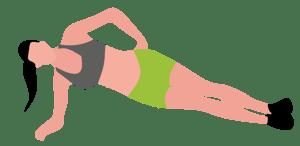 Plancha-lateral-1Rutina de ejercicio para realizar en casa mientras hace teletrabajo