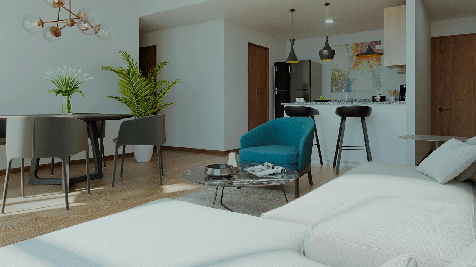 beneficios de vivir en un apartamento